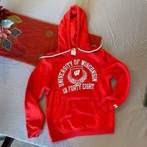 University of Wisconsin sweatshirt